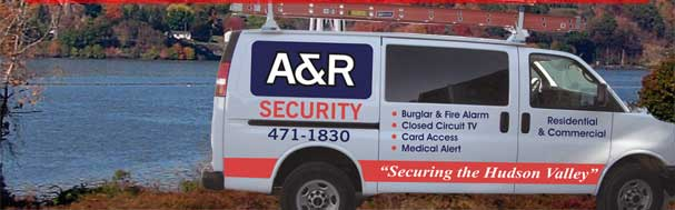 A and R Security - 471-1830 Securing the Hudson Valley - Burglar and Fire Alarm, Closed Circuit TV, Card Access, Medical Alert